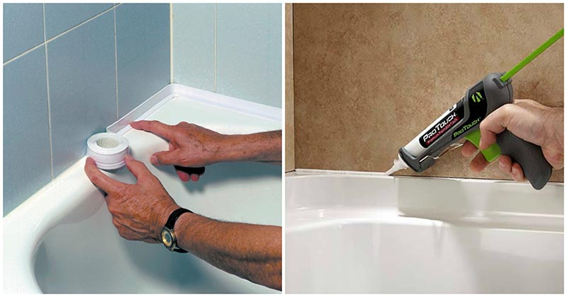5 эффективных способов заделать щель между стеной и ванной
