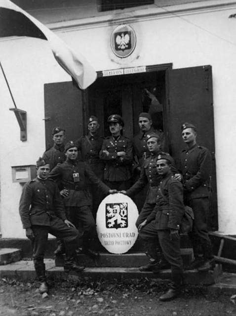 Польская оккупация Чехословакии -1938 год.