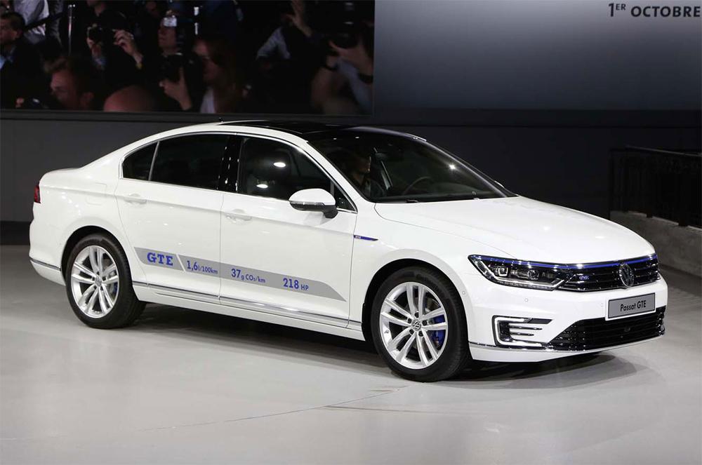 Volkswagen Passat B8 стал самым экономичным седаном в мире
