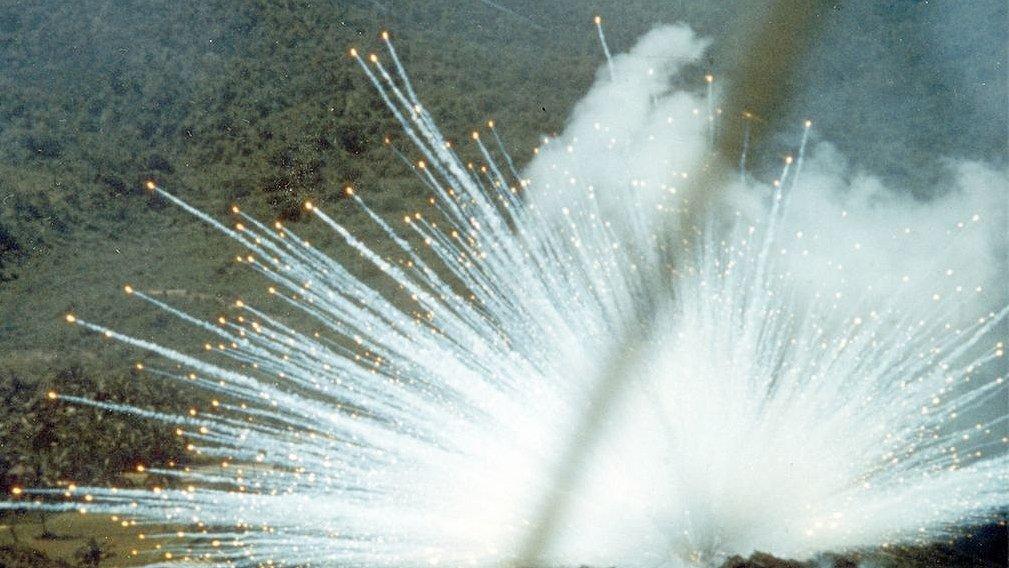 Коалиция применила бомбы с белым фосфором при авиаударе по Хаджину