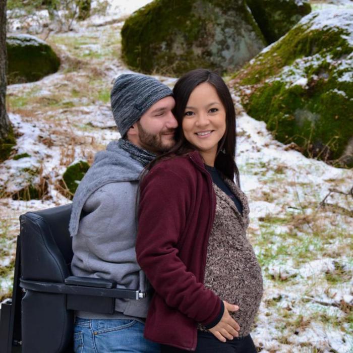 Многодетный папа: Ник Вуйчич стал снова отцом, на этот раз — близняшек