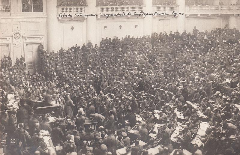 Совет солдатских депутатов в Госдуме