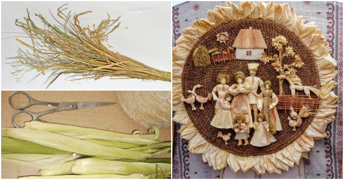 Урожай в закромах — солома и талаш в руках: «шуршащее» творчество кубанских мастериц
