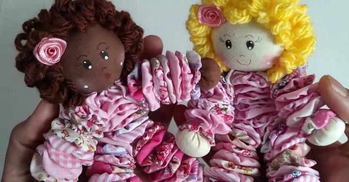 Подвижная кукла-малышка: шьётся просто, выглядит здорово