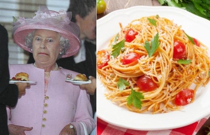 Каких продуктов нет в меню Елизаветы II