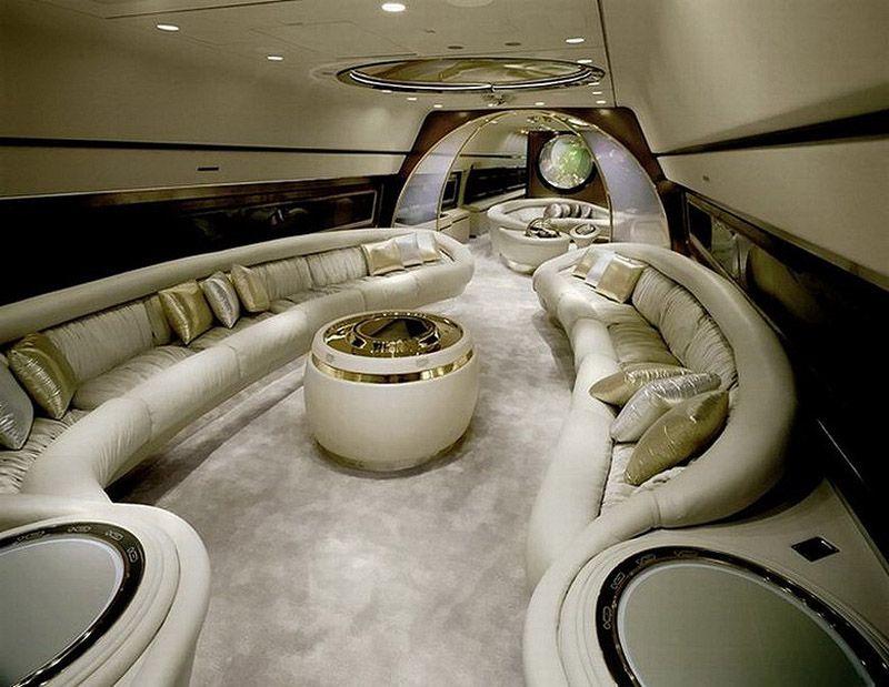 privatejets11 Роскошные частные самолеты сильных мира сего
