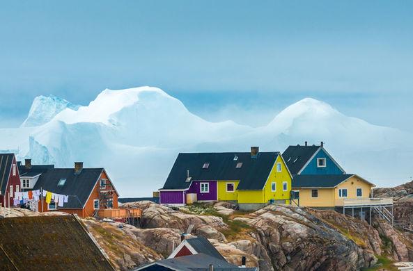 Ученые показали Гренландию без ледяного щита