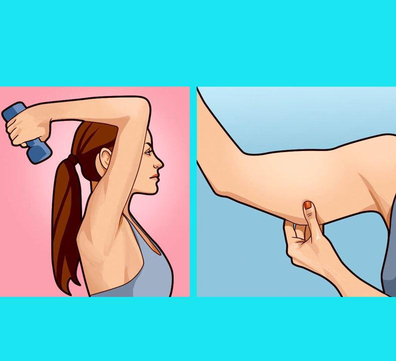 ТОП-5 Упражнений для красивых рук и пресса