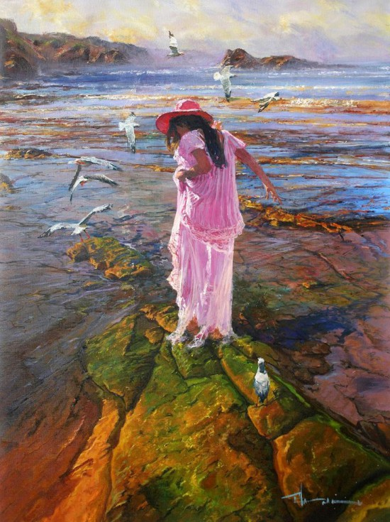 женщина и море Robert Hagan - 13
