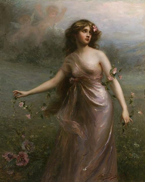 Женский образ в живописи 18-20 веков часть 1