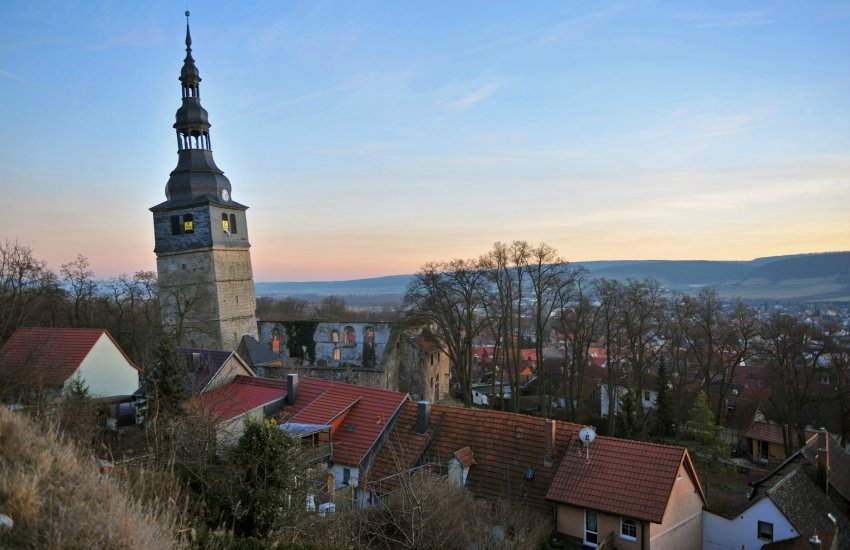 4. Башня церкви Франкенхаузен, Германия