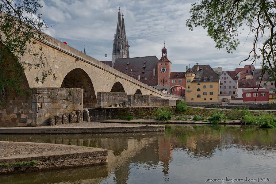 2 одинаковых, но разных городка Германии