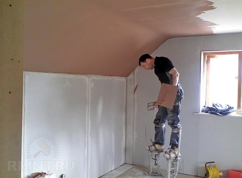 Как вытянуть стены