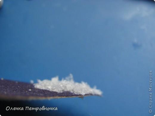 Мастер-класс Материалы и инструменты Новый год Снег к Новому Году Мини МК Клей Материал бросовый Полиэтилен фото 8