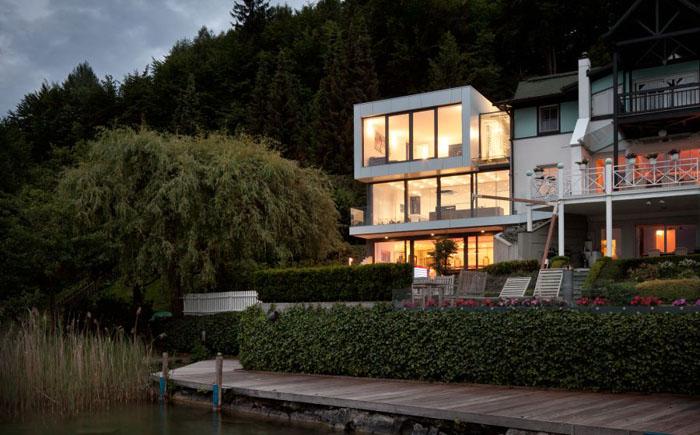Самые потрясающие дома на берегу озер