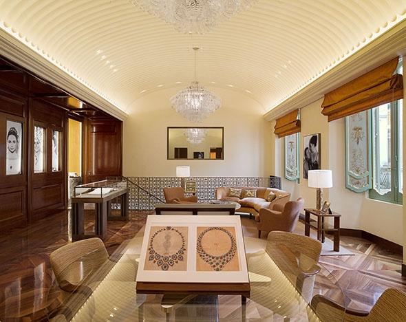 К 130-летию Bulgari Питер Марино создал новое пространство Дома в Риме