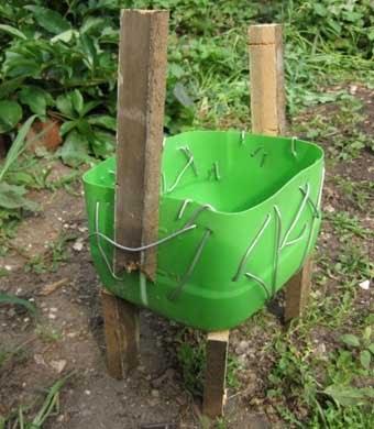 как сделать поделки для сада своими руками