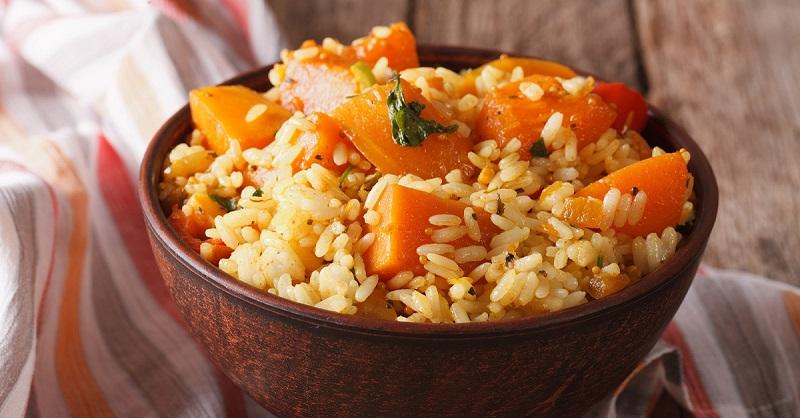 Рецепт тыквенного риса
