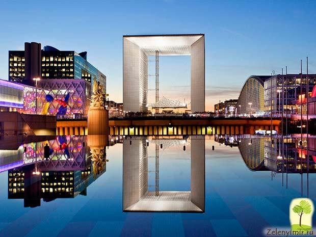 Большая арка Дефанс в Париже – современный вариант Триумфальной арки - 12