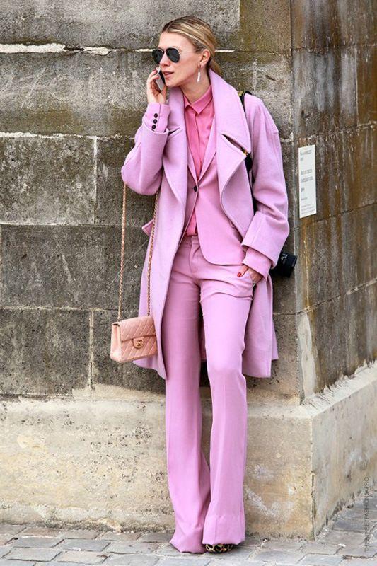 Пальто розовых оттенков: стильно и романтично