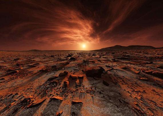 Марсианское утро