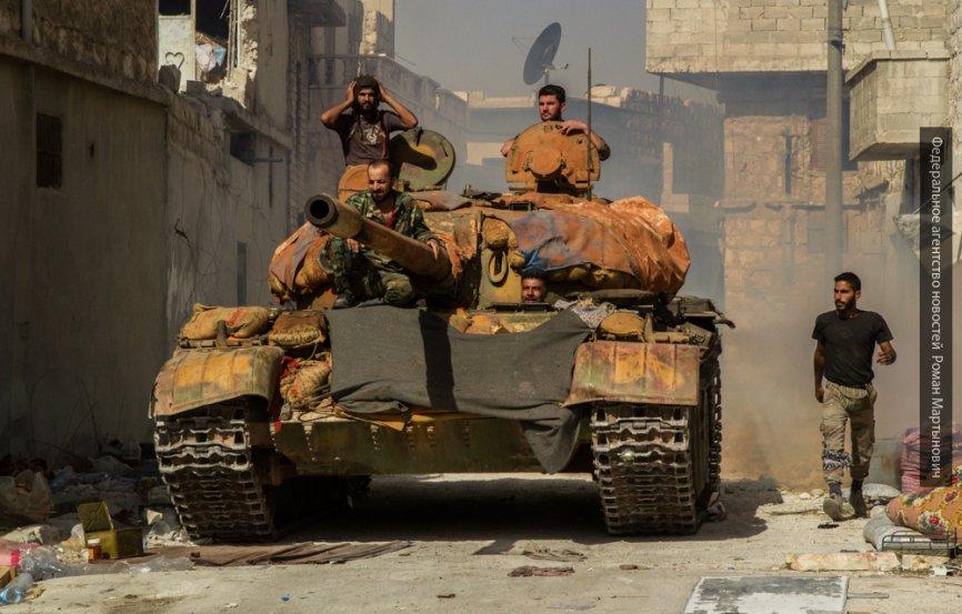 Остров Катиа взят штурмом: сирийская армия добила ИГИЛ в Дейр-эз-Зоре