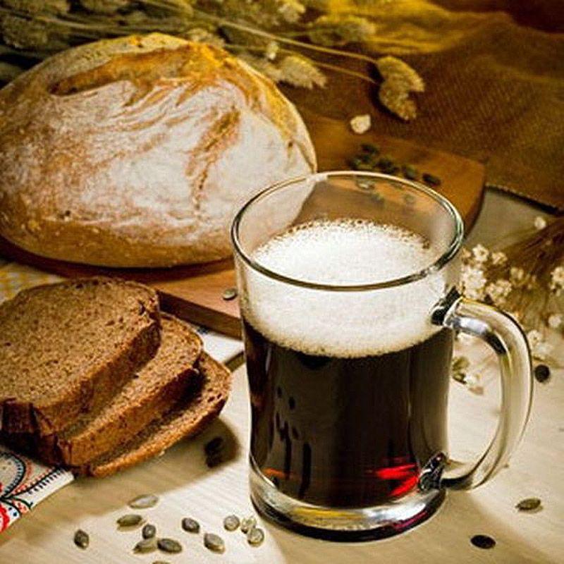 Напиток из ржаного хлеба