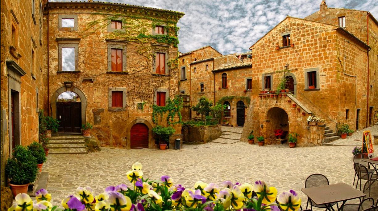 В  этом совершенном итальянском городе живет всего 12 человек