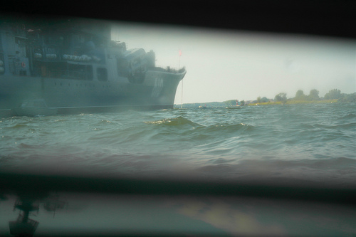 Морпехи. Высадка десанта в море