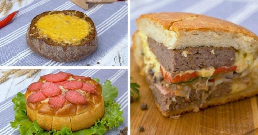 Хлеб с начинкой: сытное основное блюдо в трех вариантах