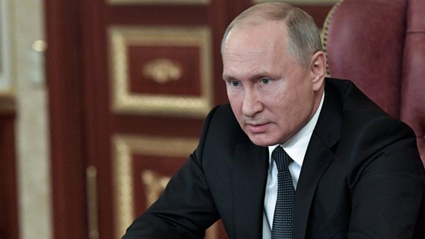 Путин призвал ЕС деполитизировать оказание помощи Сирии