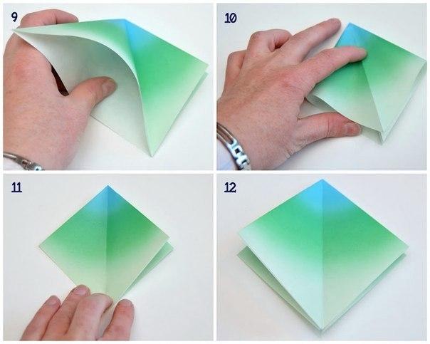 Как сделать бусы из оригами из бумаги