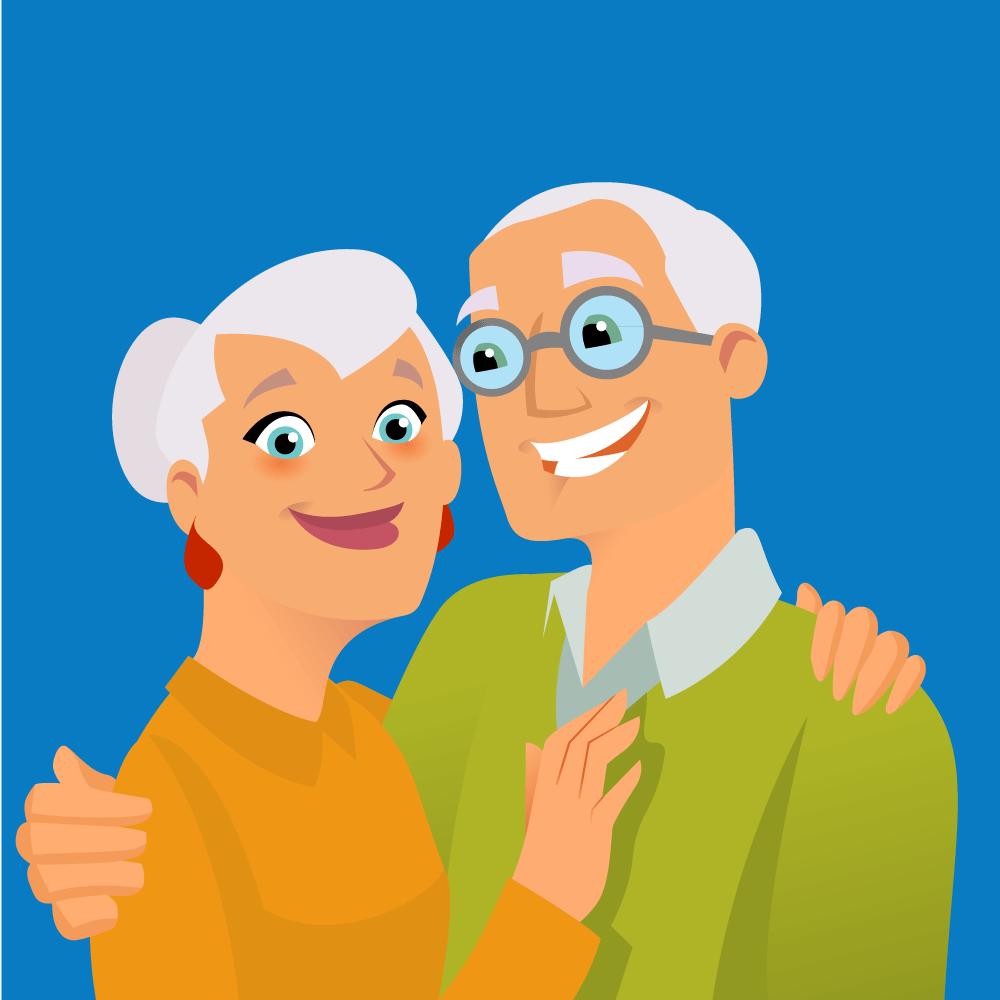 Анекдот про пожилых супругов игипотетическую ситуацию