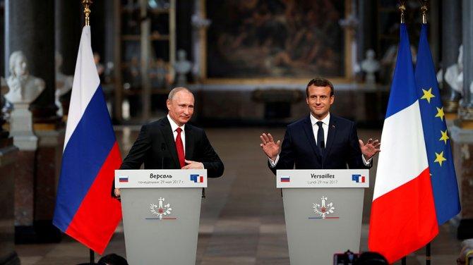 Путин жёстко подколол Макрона по поводу шпионов