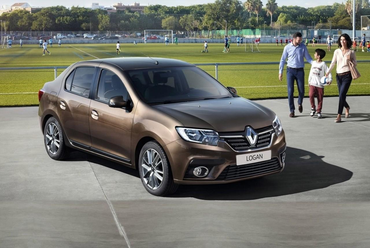 Renault Logan в России появи…