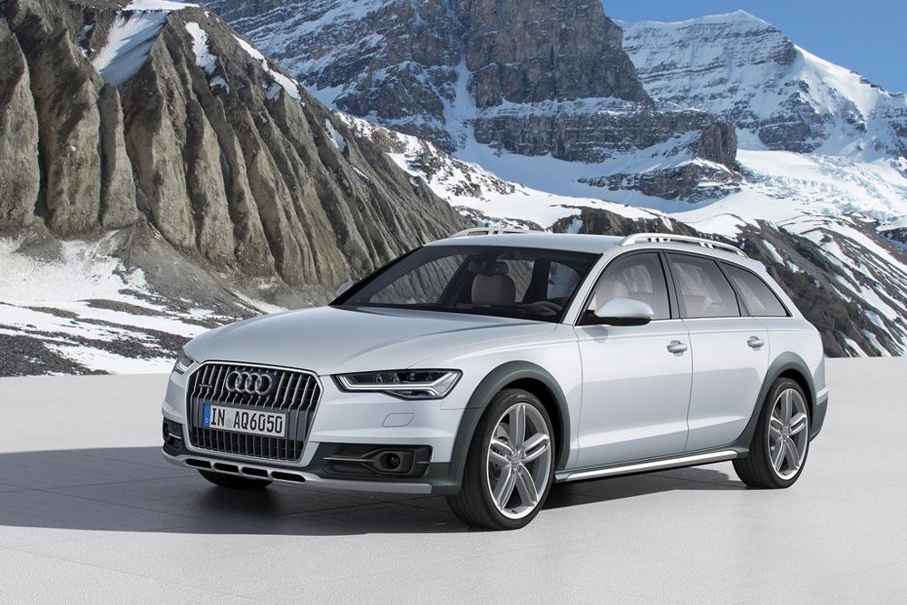 Обновленная Audi A6 получила матричные фары