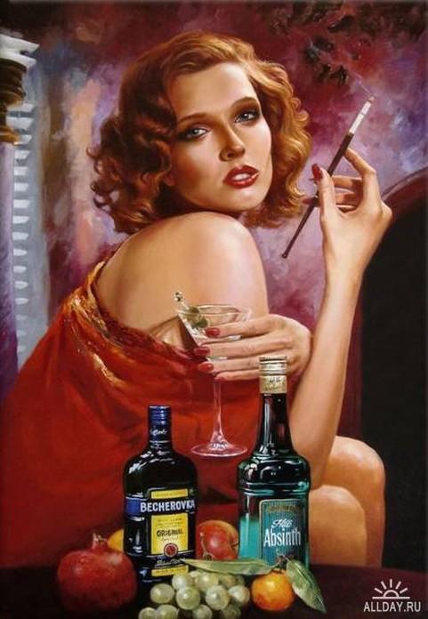 Творчество известного российского художника   Абат-Черкасова