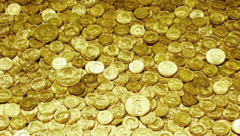 Как Япония присвоила золото …