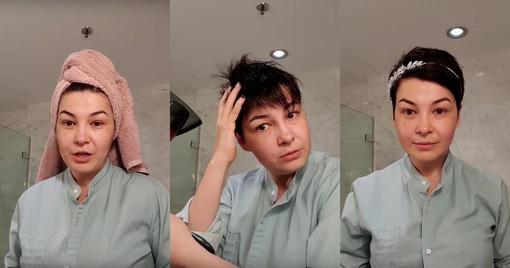 Универсальная укладка короткой стрижки, которая придаст объем даже самым тонким волосам