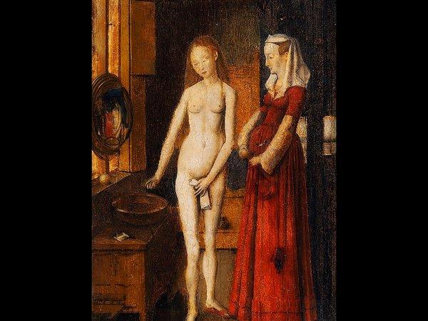 Бесследно исчезнувший откровенный шедевр XV века «Женщина и её туалет»