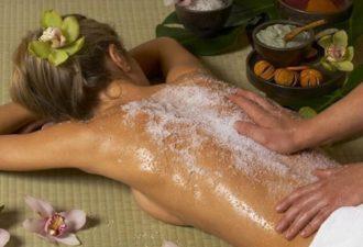 Эффективная смесь масла и соли поможет от шейного остеохондроза.