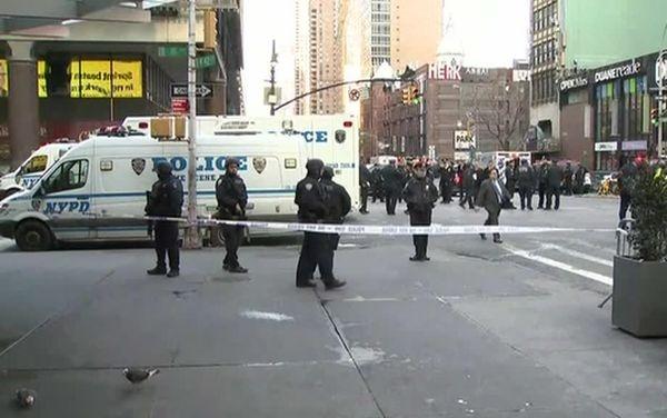 Упосольства нет данных опострадавших отвзрыва вНью-Йорке россиянах