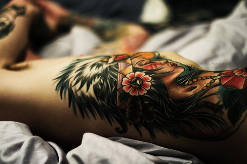 Фото татуировок женских самые красивые