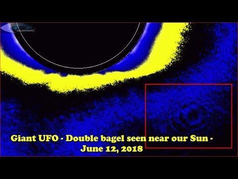 Уфологи: причиной странных пульсаций возле Солнца стал корабль инопланетян