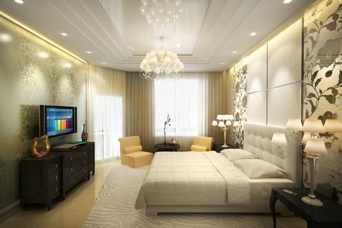 Некоторые рекомендаци при оформлении дизайна спальни (5) (700x466, 272Kb)