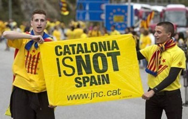Каталония снова требует независимости от Испании