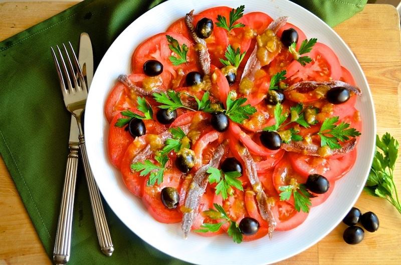 итальянский салат фото