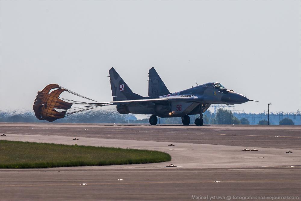 Выразили восхищение. Истребитель МиГ-35 поразил польских летчиков