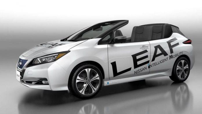 Nissan представил электрический кабриолет