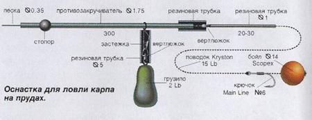 составы бойлов для ловли карпа